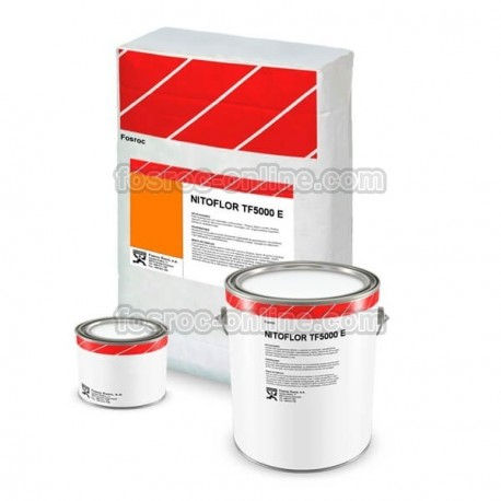 Nitoflor TF5000E - Mortero de resina epoxi libre de disolventes