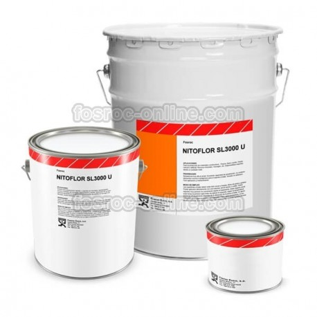 Nitoflor SL3000 U - Polyurethane cement fluid floor for medium to heavy traffic