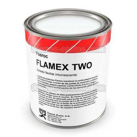 Flamex Two - Masilla intumescente flexible de altas prestaciones para sellado de juntas