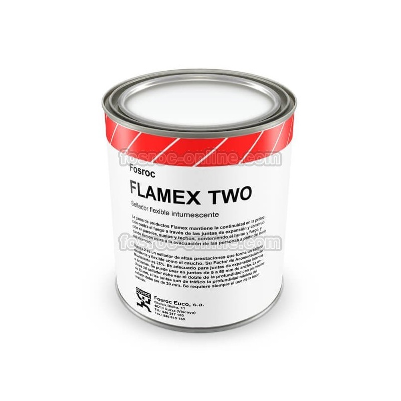 Flexible Joint Filler : Intumescent fire rated flexible joint sealant flamex two
