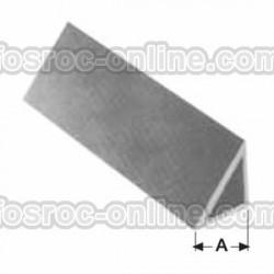 Berenjeno - Perfil de PVC reutilizable para chaflanes en columnas y soleras