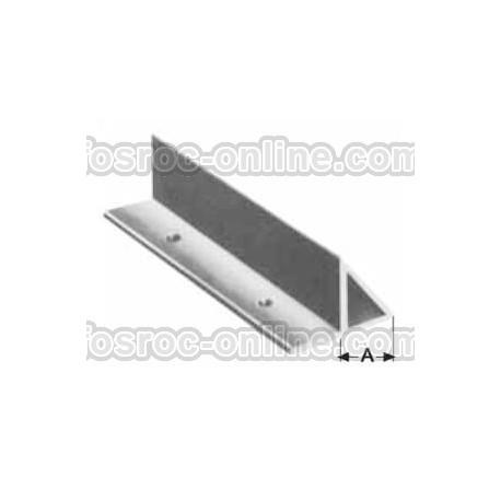 Berenjeno N - Perfil de PVC reutilizable para chaflanes en columnas y soleras