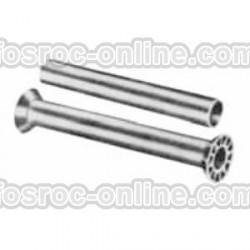 Fospreize - Tubo de encofrado o pasamuro en PVC rugoso en su exterior