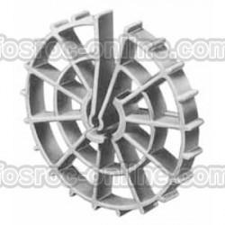 Fosrueda - Separador de armadura horizontal o vertical de rueda o timón
