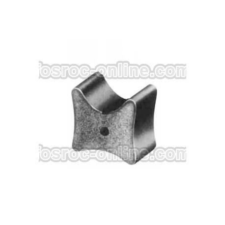 Separador de Hormigón sin alambre - Separador de armadura de doble recubrimiento reforzado con fibras