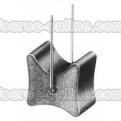 Separador de Hormigón con alambre - Separador de armadura de doble recubrimiento...