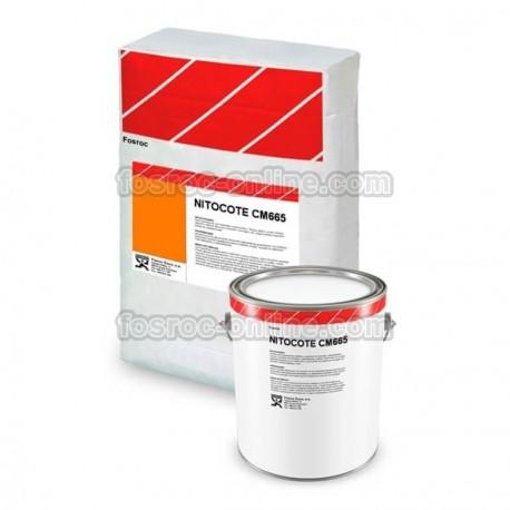 Nitocote CM665 - Mortero impermeabilizante cementoso elástico color gris
