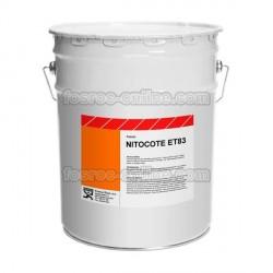 Nitocote ET83 - Pintura impermeabilizante de brea epoxi alta resistencia