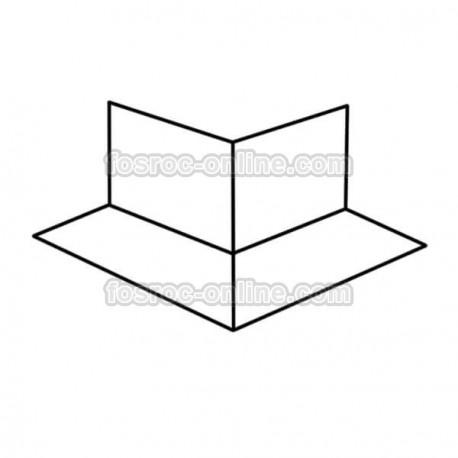 Proofex Esquina exterior - Membrana impermeable de polietileno y malla
