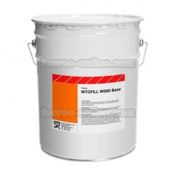 Nitofill WS60 Base - Rigid crack injection resin for stopping water flow