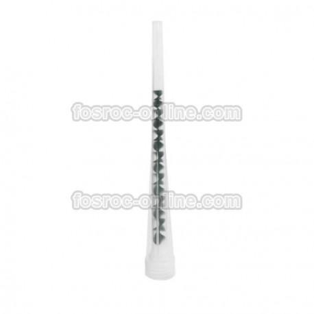 Mezclador Lokfix Dur - Cánulas plásticas mezcladoras para cartuchos de resinas bicomponentes