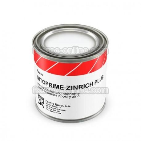 Nitoprime Zincrich Plus - Imprimación anticorrosiva monocomponente para protección de armaduras