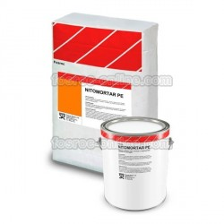 Nitomortar PE - Polyester resin mortar for jointing and quick repairs of concrete