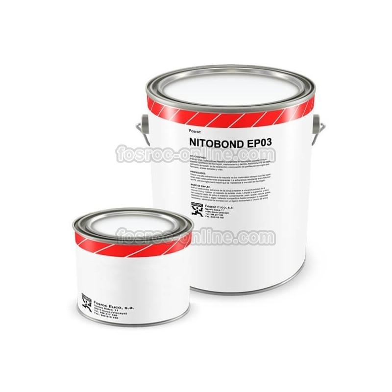 Resina epoxi para puente de uni n de hormig n nitobond ep03 for Resina para hormigon