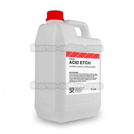 Fosroc Acid Etch - Concrete remover, cleaning and etching agent