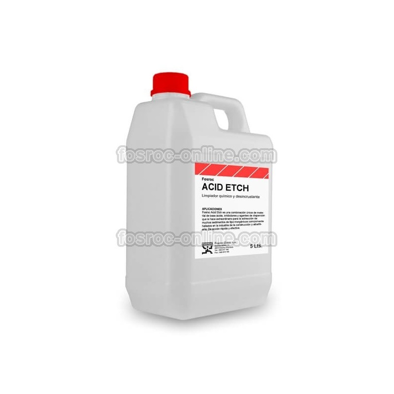 Concrete remover cleaning and etching agent fosroc acid etch for Cement cleaning solution