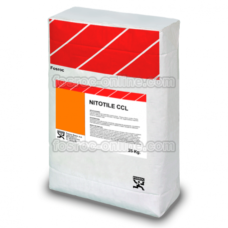 Nitotile CCR - Cement based adhesive for the fixing of ceramic tiles