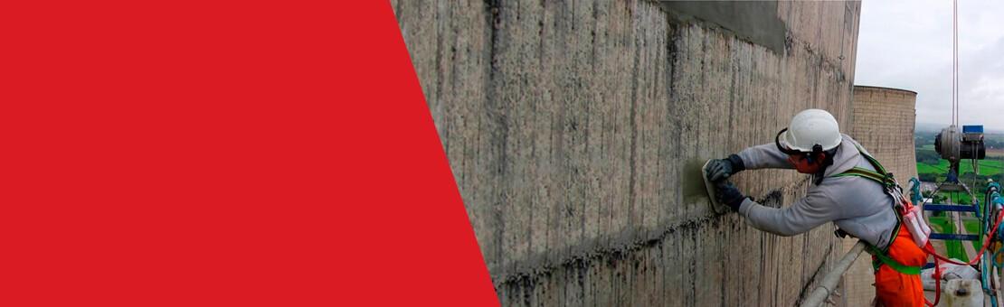 Reparatur und Schutz von Beton